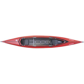 Triton advanced Vuoksa 2 Advanced Kayak Complete Set red/black
